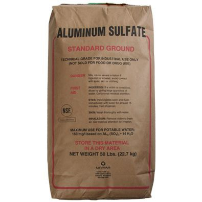 an analysis of aluminum sulfate reacts with phosphates to create aluminum phosphate and a sulfate Aluminum sulfate amide resin sodium or potassium aluminum phosphate salp reacts more slowly than traditional leavening agents with sodium bicarbonate.