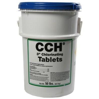 Calcium Hypochlorite 50lb Drum 3 Tabs Water Treatment