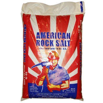 Rock Salt 50lb Bag Water Treatment Chemical Supplier Ice Melt Distributor Pool