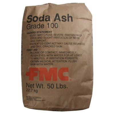 Soda Ash Light Sodium Carbonate 50lb Bag Water Treatment Chemical Supplier Ice Melt