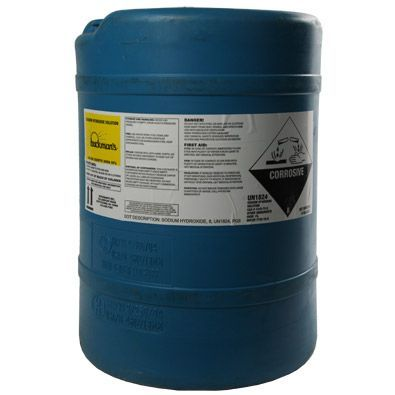 Sodium Hydroxide 25 15 Gallon Deldrum Water Treatment