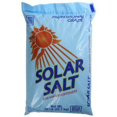 Solar Salt Coarse 50lb Bag Water Treatment Chemical