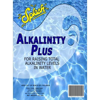 Splash Alkalinity Plus (Sodium Bicarbonate) - 10 Pound Pouch